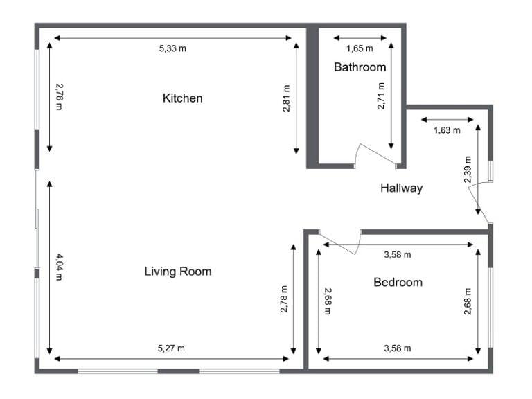 Add Measurements | RoomSketcher