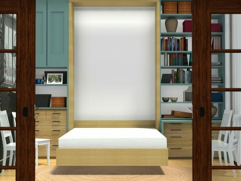 modern house floor plan dynamic feature