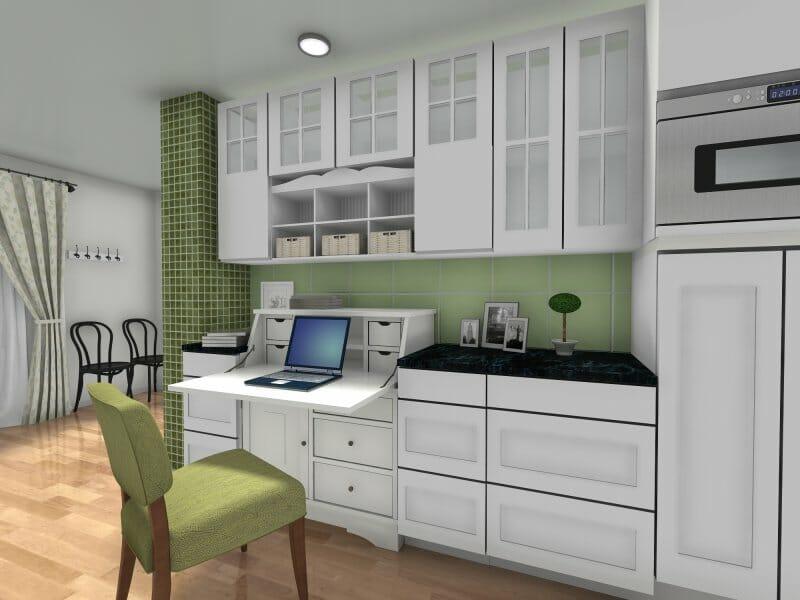 Roomsketcher Blog 8 Inspiring Kitchen Workstation Ideas