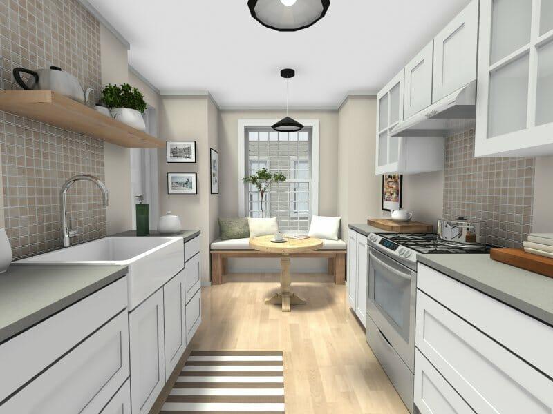 Cozy Eat-In Kitchen Idea