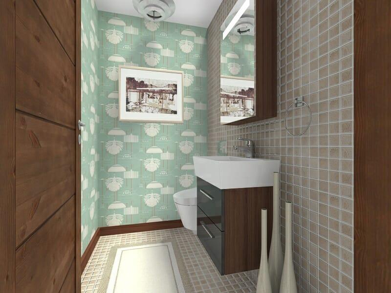 10 perfect powder room ideas roomsketcher blog for Modern bathroom design blog