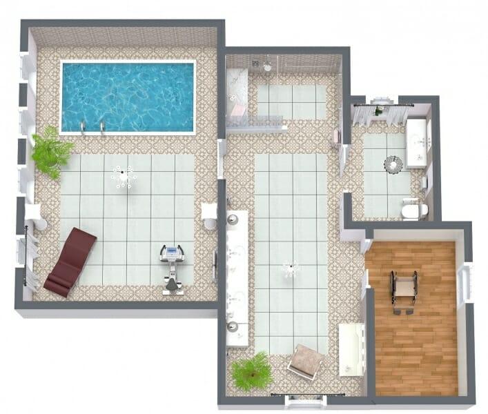 Roomsketcher Blog 9 Ideas For Senior Bathroom Floor Plans