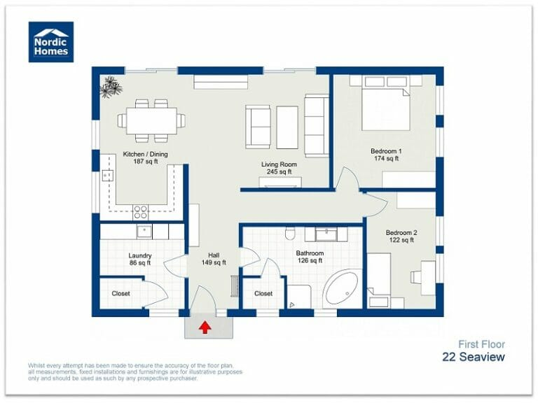 Branded floor plan