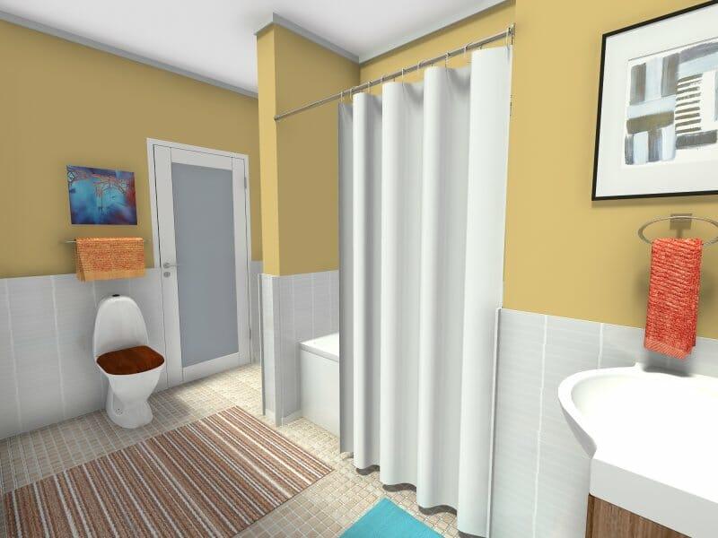 Big bang theory bathroom