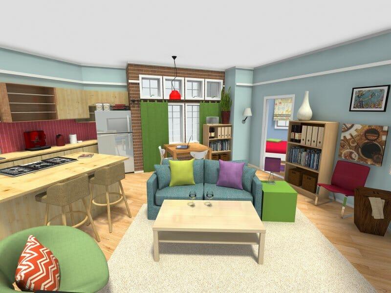 Penny's BBT apartment